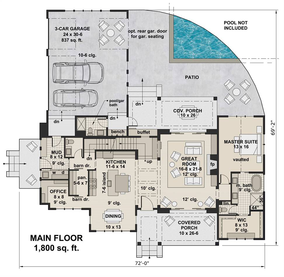 Top Selling House Plans Of 18 The House Designers