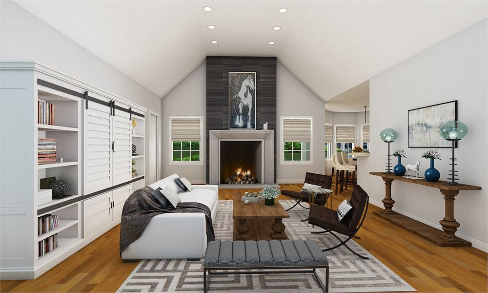 House Plan 4304: Family Room