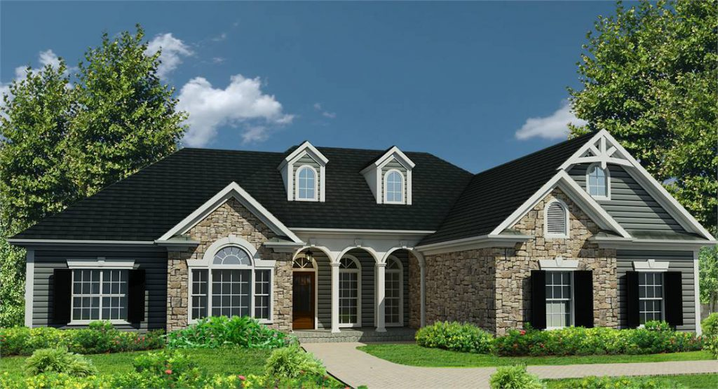 House Plan 4304: The Rockwell - A traditional ranch house plan