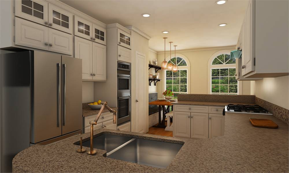 House Plan 4304: Kitchen
