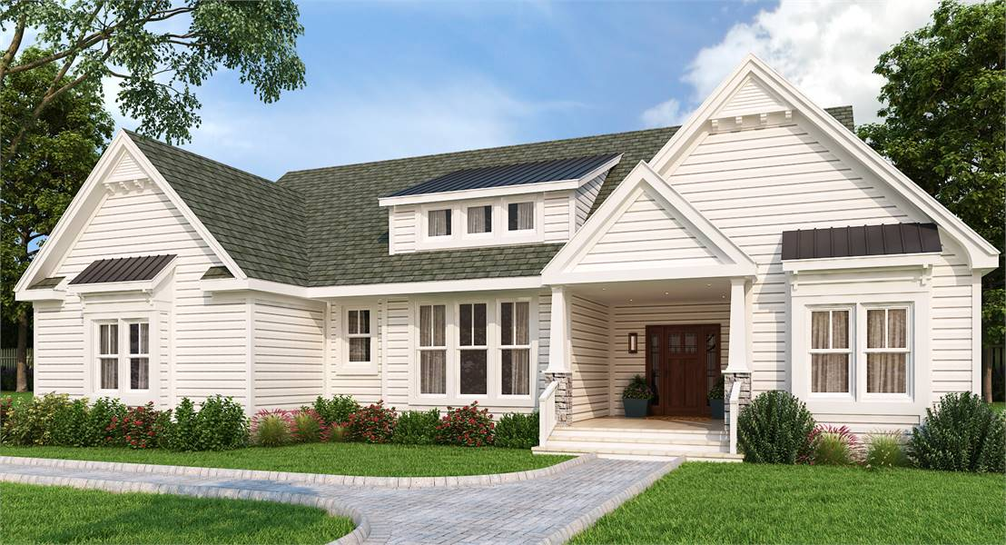 House Plan 7575: Front Elevation