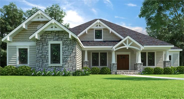 House Plan 9898: Covington
