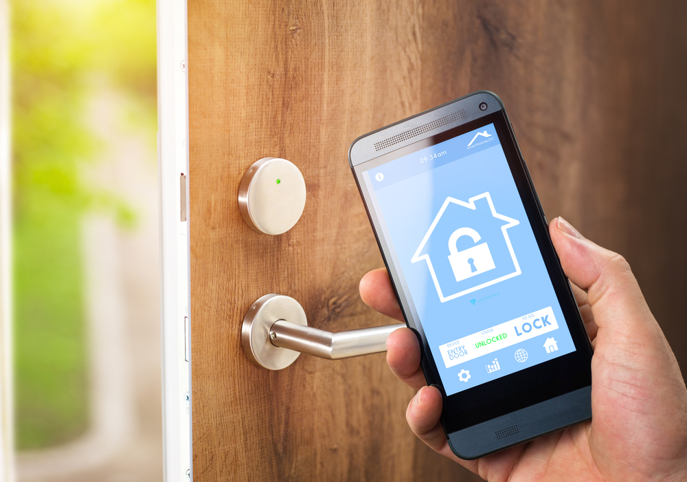 smart locks make home security simpe