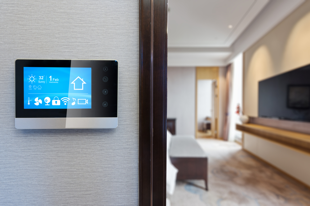 try a smart thermostat to open up the smart technology possibilities in your home