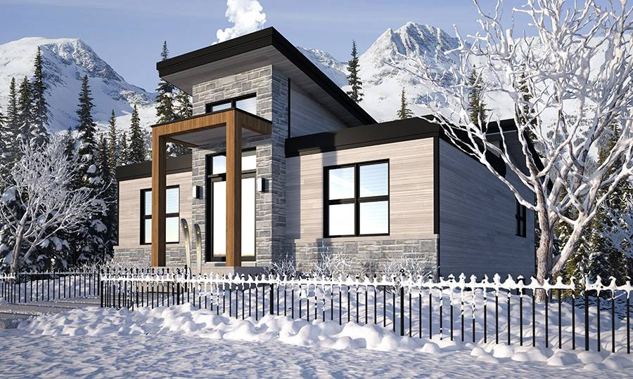 House Plan 4970: House Plans with Detached Garages