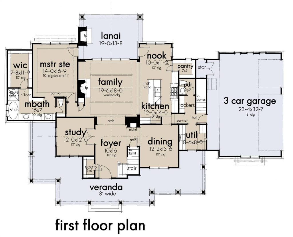 8 Open Floor House Plans - New for Fall