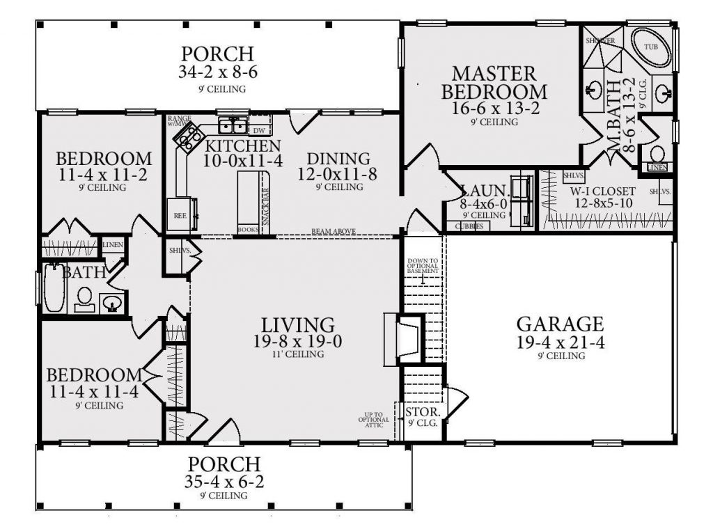 Cheap To Build Home Plan 4 Ways To Save Big The House Designers