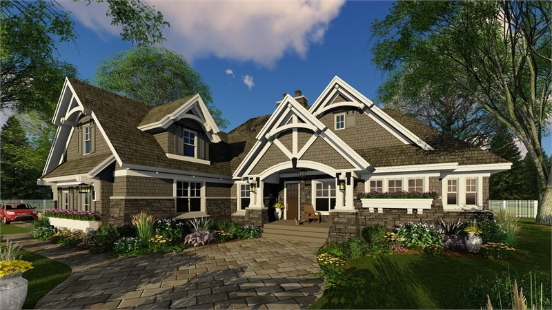 House Plan 9716 - 4 Bedroom House Plans