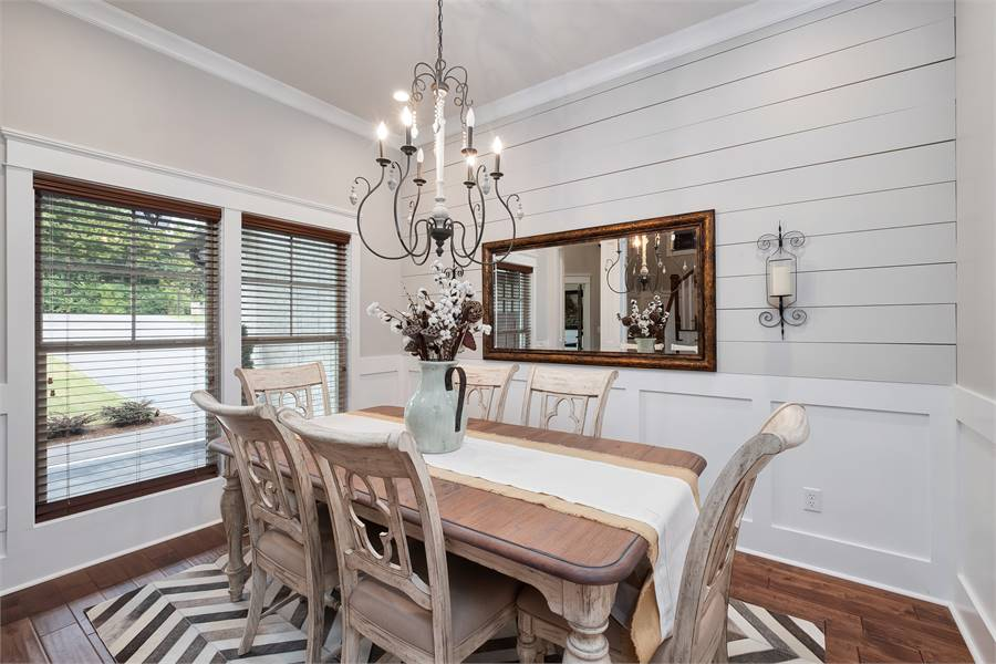 House Plan 2235: Accent Walls Decorated with Shiplap
