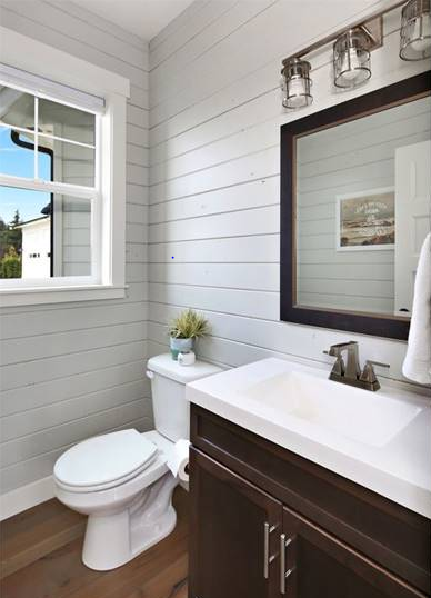 House Plan 6846: Decorating Small Spaces with Shiplap