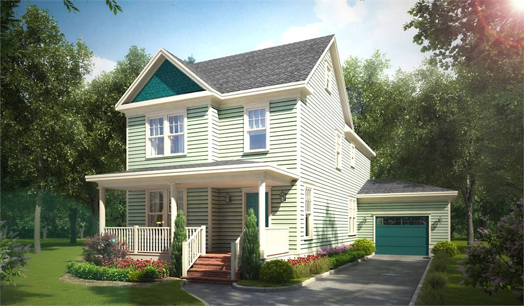 Simple Rectangular House Plans