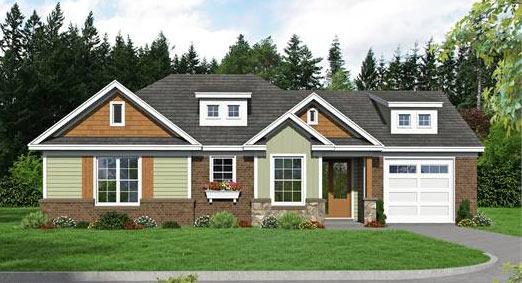 House Plan 2012: Small Empty-Nester Floor Plan