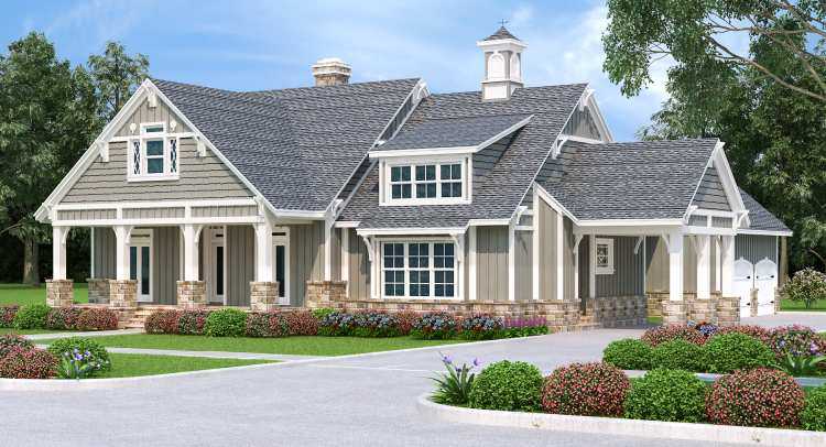 House Plan 7456: Mid-Sized 3 Bedroom Floor Plan for Retired Couple
