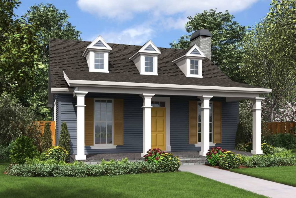 House Plan 1917: Tiny House Plans with 2 Bedrooms