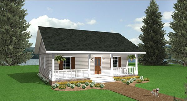 House Plan 5634: Tiny House Plans with 2 Bedrooms