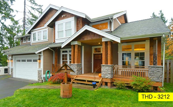A Spacious Formal Craftsman Farmhouse with Bedrooms and a Bonus Upstairs