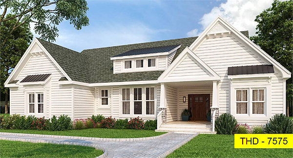 Our Newest ACHP Design, a Striking yet Affordable Modern Farmhouse!