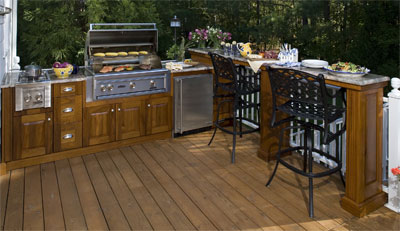 outdoor kitchens - Home Deck Design