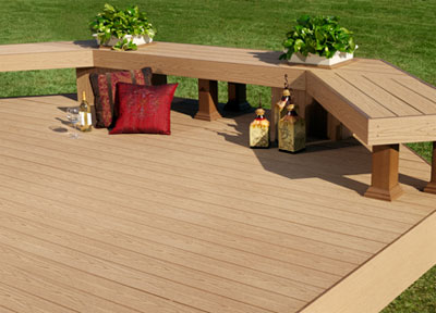 Decking materials affordable decking materials for Affordable deck ideas