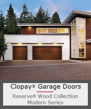 Real Wood Garage Doors with Fantastic Modern Style