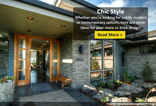 See How the Right Stone or Brick Could Transform Your Modern Home!