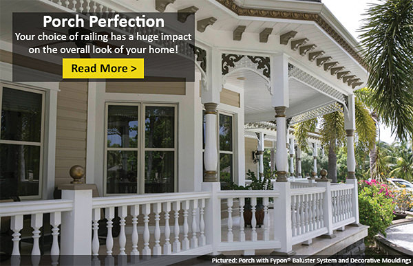 Baluster Styles for Porches