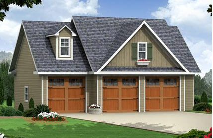 Search for House Plans from The House Designers – House Plans With Loft Over Garage