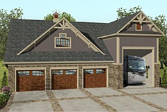 house plan the grande carriage house 3328