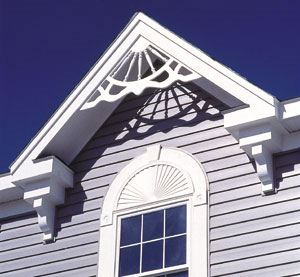 Transform your window exteriors from boring to for Fypon window pediments