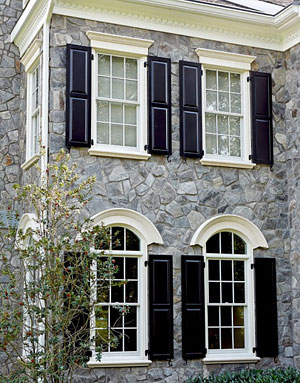 Transform your window exteriors from boring to extraordinary the house designers for Exterior decorative trim for homes