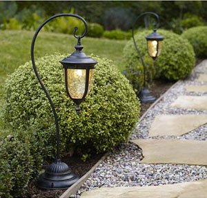 LAMPS PLUS Path Light