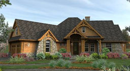 the most popular house style plans is the Craftsman Style Home