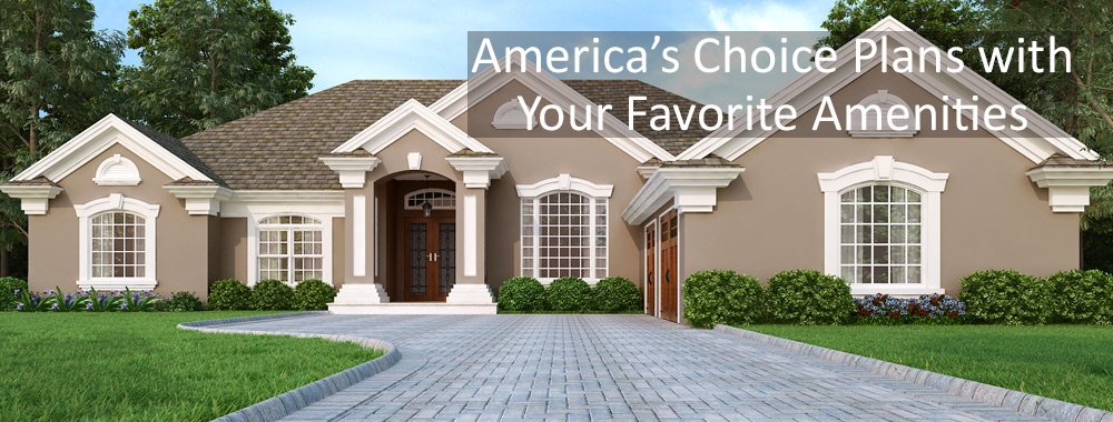 House plans affordable builder ready home designs with for American home choice