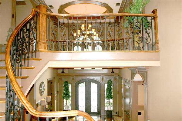 Grand Foyer House Plan : Chateau melliant bedrooms and baths the house