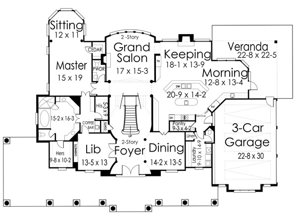 Broadstone lodge 1433 6 bedrooms and 6 baths the house Lodge floor plans