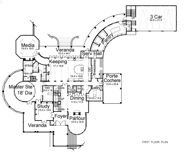 Cordelia 7940 4 Bedrooms And 5 Baths The House Designers