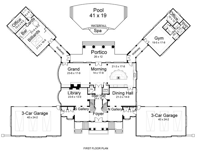 Newport Hall 6150 5 Bedrooms And 5 5 Baths The House
