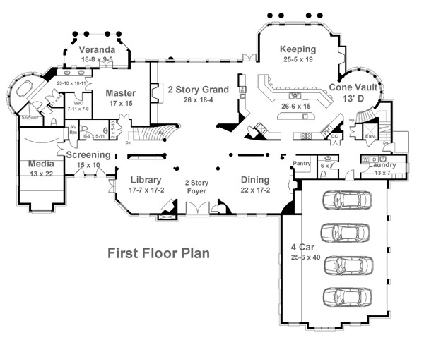 Bellenden manor 6133 5 bedrooms and 5 5 baths the Manor house floor plan