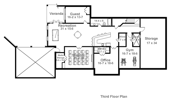 charleston 1836 - 4 bedrooms and 4 baths | the house designers