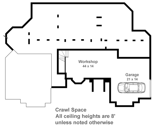 Crawl Space Floor Plan