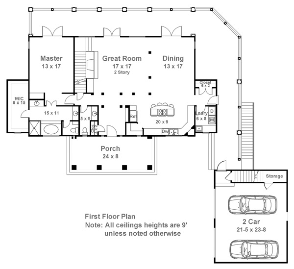 1st Floor Plan image of Hartwell