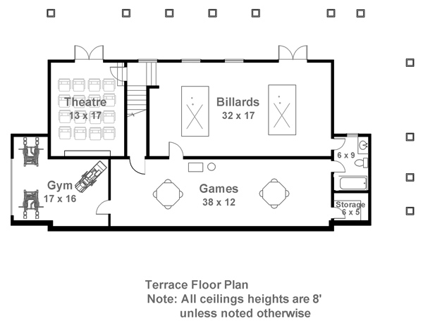 Terrace Floor Plan image of Hartwell