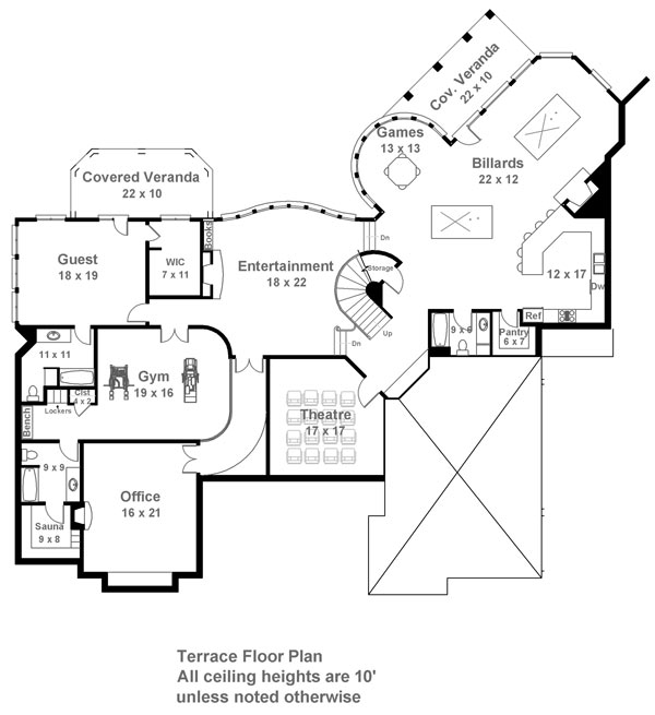 pontarion 6014 - 4 bedrooms and 5 baths | the house designers