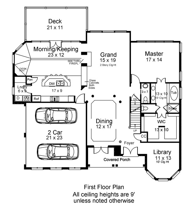 First Floor Elevation Definition : Loudon bedrooms and baths the house designers