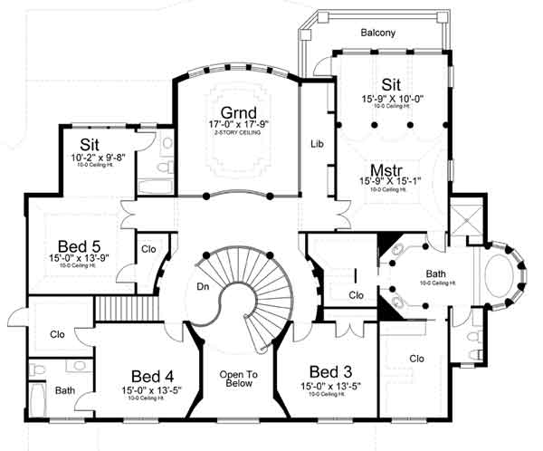 2nd floor plan image of vinius for Second story floor plan