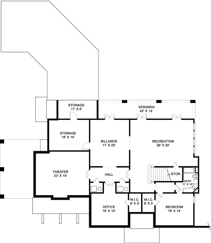 english house 6015 4 bedrooms and 5 baths the house gallery english cottage floor plan