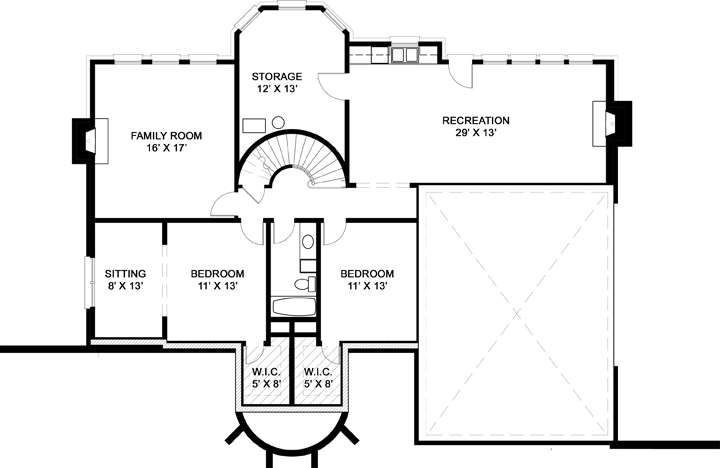 Hepplewhite 7975 4 Bedrooms And 3 Baths The House