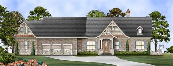 Mayberry Homes Floor Plans: Universal Design Accessible Luxury Home Plan
