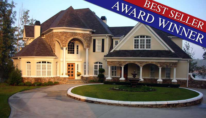 Stone pond 6001 4 bedrooms and 3 baths the house designers - Stone house designs and floor plans ...