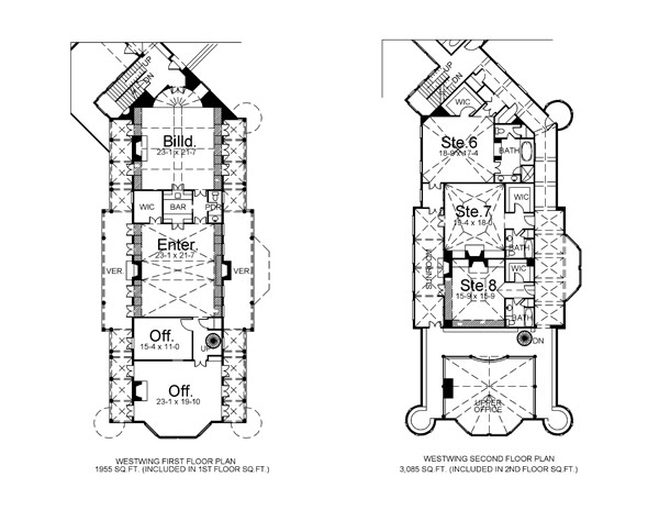 balmoral 6048 12 bedrooms and 12 baths the house designers